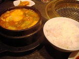 銀座 清香園 ランチ タラチゲ2