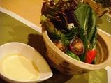東銀座 和の杜すみか 取れたて生野菜のすみかディップ添え