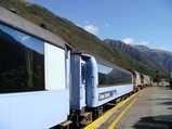 ニュージーランド 高原列車 Tranz Alpine(トランツアルパイン)
