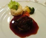 渋谷 シェ・パルメ 和牛の頬肉のブレゼ 赤ワイン風味