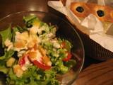 ルビーカフェ サラダとフォカッチャ