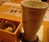 東銀座 千の庭 ビール