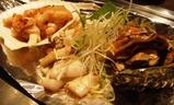 銀座 マロニエゲート やきやき三輪 鉄板焼き 海鮮