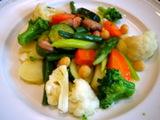 パルテノペ 温野菜サラダ