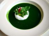 ベージュ東京 緑野菜スープ