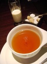 銀座 カザン KAZAN ディナー 紅茶