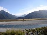 ニュージーランド 高原列車 Tranz Alpine(トランツアルパイン)景色2