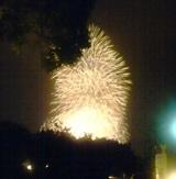 横浜国際花火大会 ポートヒル横浜 ビアテラス2