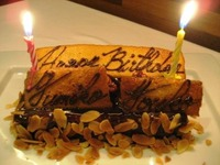 アンビアンス 誕生ケーキ