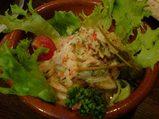 新橋 エルベベドール 魚介のサラダ