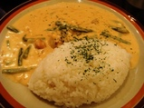代々木 金魚カフェ 白いカレー
