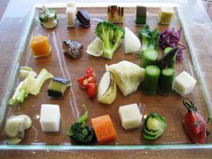 シェ トモ 野菜盛り合わせ