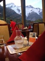 ニュージーランド マウントクック ハミテージ内レストラン