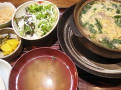 旬菜 青山 雑炊定食