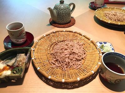 明神館 蕎麦