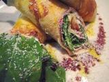 山岸食堂クレープサラダ