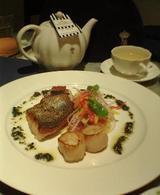 紅茶:魚料理