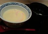 明治記念館 羽衣 茶碗蒸し 汁物