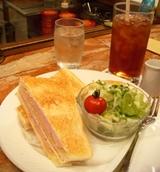 キャラバンコーヒー 横浜元町店 サンドイッチ