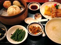 台湾海鮮 点心飲茶ランチ