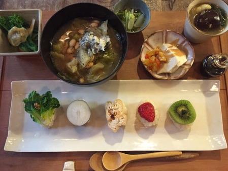 りげんどう 野菜寿司膳ランチ