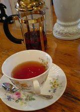 横浜・港の見える丘公園・ティールーム霧笛の紅茶