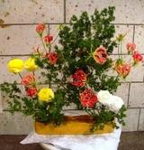 いけばな光風流 花展 横浜エリスマン邸 ギャラリー 中山映月2