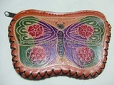 レザー財布蝶々ヒッピーエスニックファッション通販激安セール