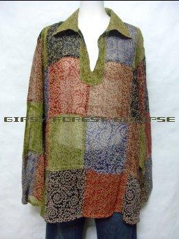 インド綿長袖ヒッピーサイケエスニックファッション通販激安セール