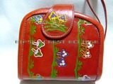レザー財布きのこヒッピーエスニックファッション通販激安セール