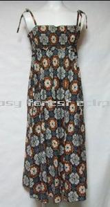 ベアトップワンピースヒッピーエスニックファッション通販激安セール