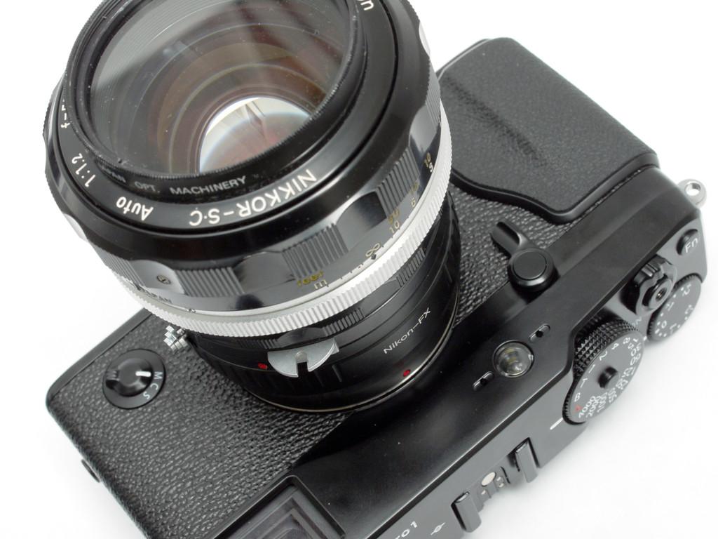 <b>ニコンF</b>の<b>レンズ</b>-X-Pro1 X-E1,2 X-T1,10用<b>マウント</b>アダプタ : muk <b>...</b>