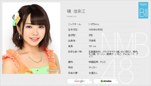 磯佳奈江-Profile