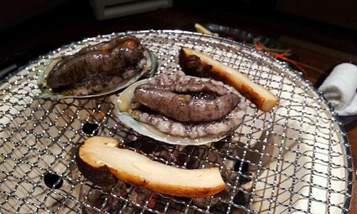 001-松茸&あわび