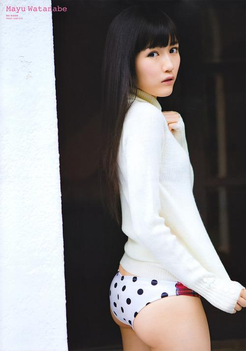 渡辺麻友-111021-friday-poster-01