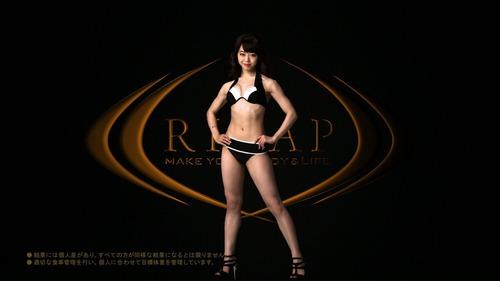 峯岸みなみ-ライザップCM-08