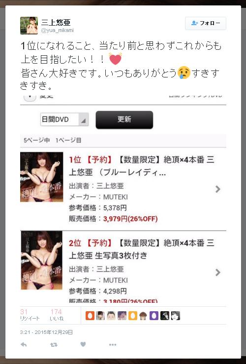 三上悠亜-Twitter-151229-0321