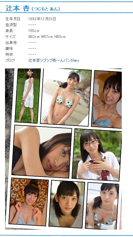 辻本杏-Profile