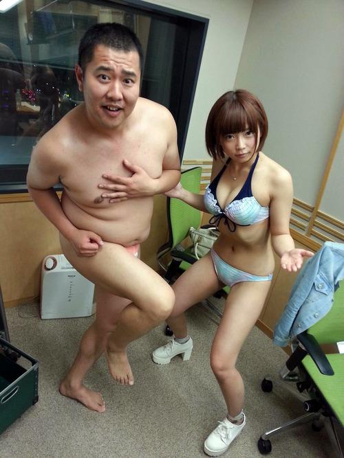 とにかく明るい安村と紗倉まなのとにかく丸裸!