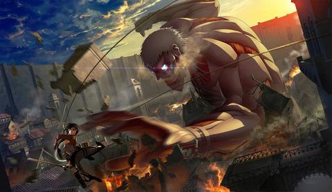 attack_on_titan_by_goruditai