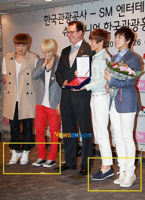 MK) Male K-Pop Idols Wear Shoe Inserts Too Often to Increase Their