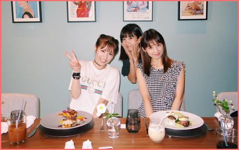 ほしのあき、小倉優子、若槻千夏が3ショット公開!20代にしか見えない(画像あり)