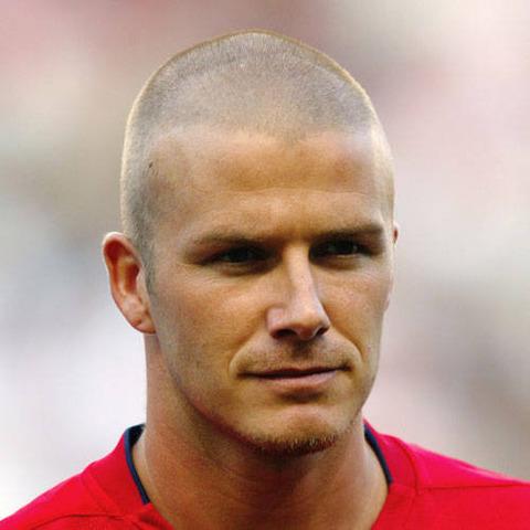 Beckham shaved head ugly