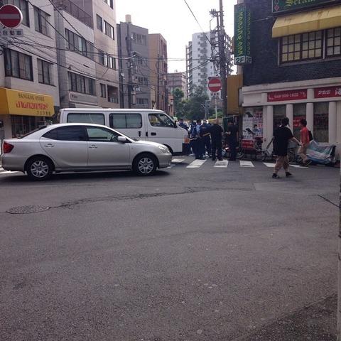 【速報】埼玉県西川口駅で人が刺される事件発生!!メディアは未だ報道せず・・・(画像あり)