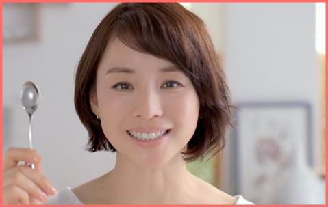 ヘアスタイルがかわいい石田ゆり子さん
