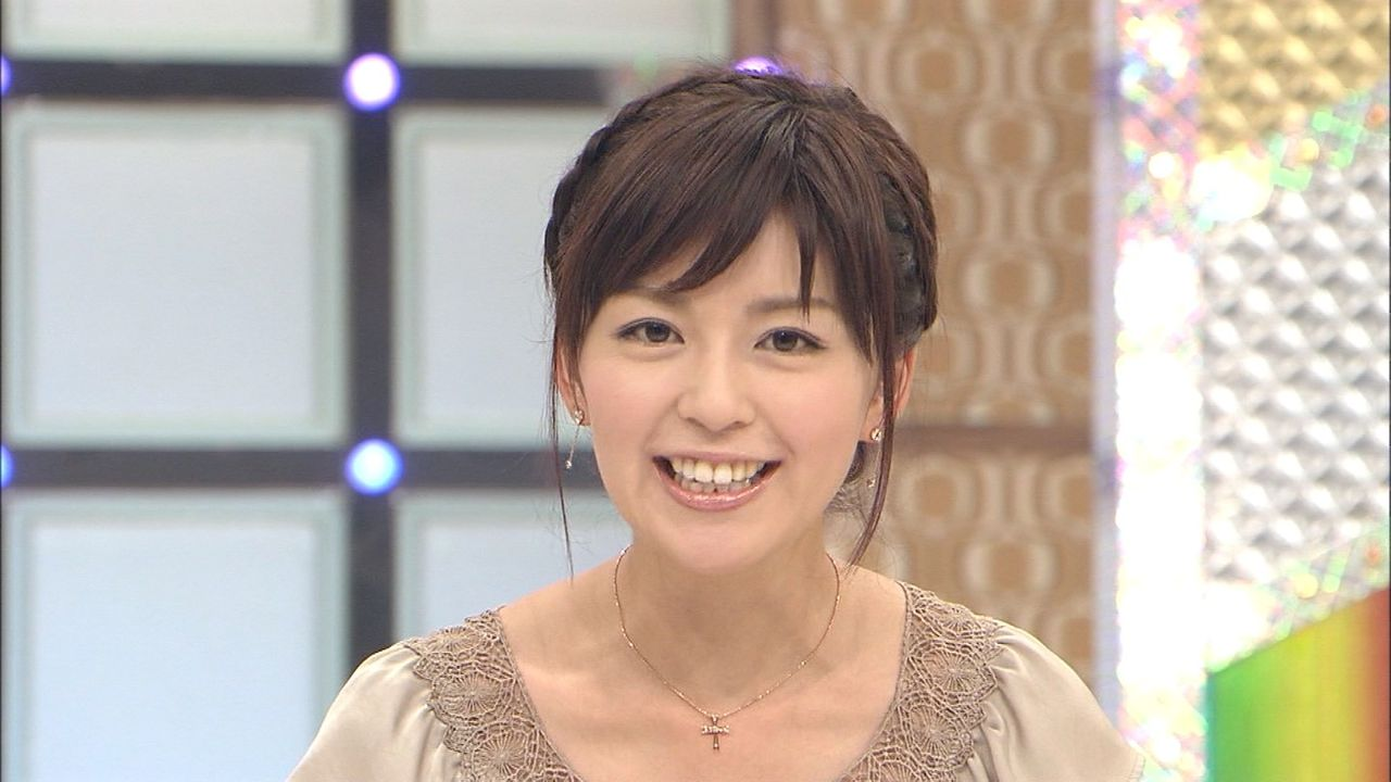 中野美奈子 : 死ぬかも...加藤綾...