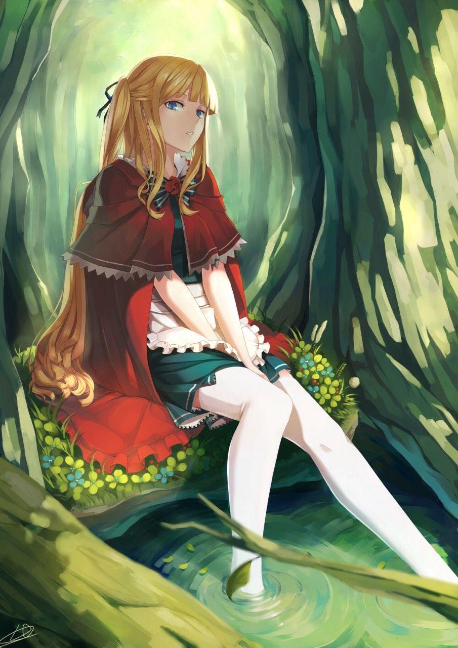 2次元のかわいい女の子画像0011