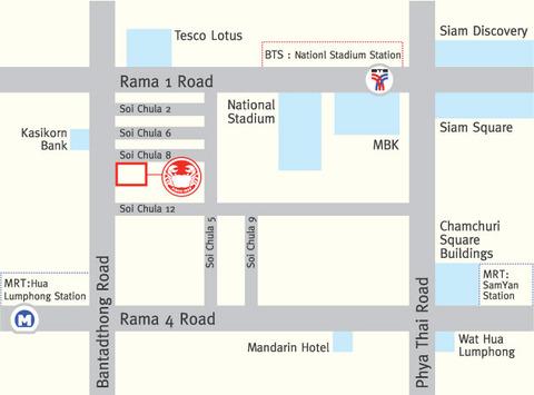 バーンタトン店地図