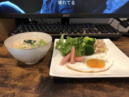 【画像】ワイの手作り昼ご飯何点?