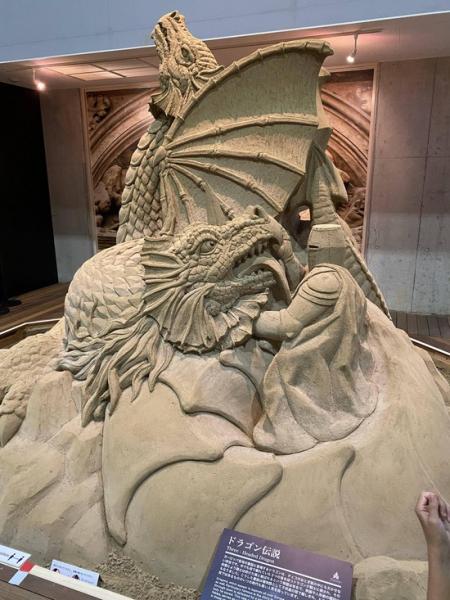 【画像】砂の美術館行ってきたけど、ガチでヤバすぎるwwwwwwww